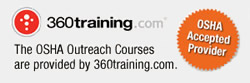 OSHA accepted online training provider